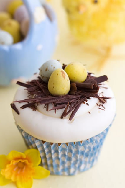 here are some easter decorating ideas for cupcakes - Easter Decorating Ideas