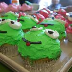 Cute Green Frog Cupcake Recipe