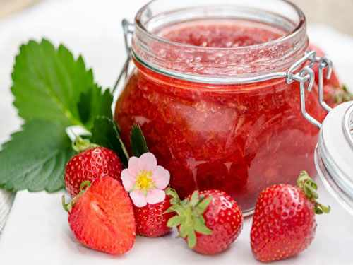 Strawberry Jam Recipe with Gelatin