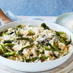 Asparagus Risotto with the Taste of Italy