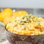 Rustic Vegetarian Canned Pumpkin Risotto