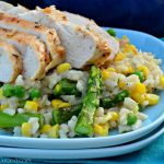 Rotisserie Chicken and Vegetable Risotto